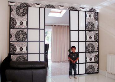 Roomdividers in de woonkamer