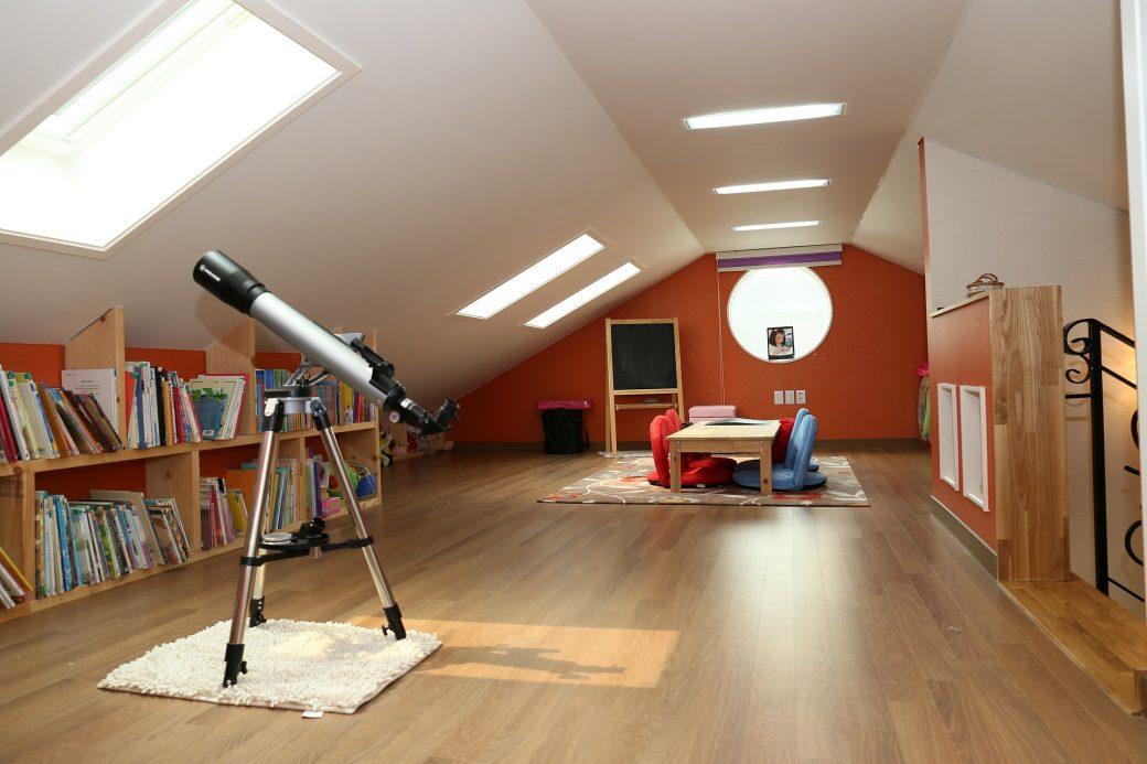 Van oude zolder tot ruime slaapkamer