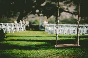 hang schommelstoel tuin