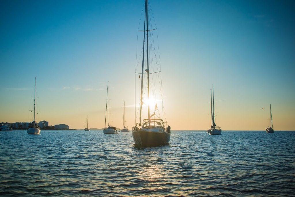 Ibiza zonsondergang