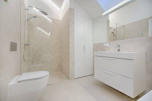 last van een verstopt doucheputje