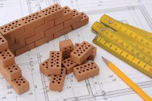 bouwtekening voor aanbouw